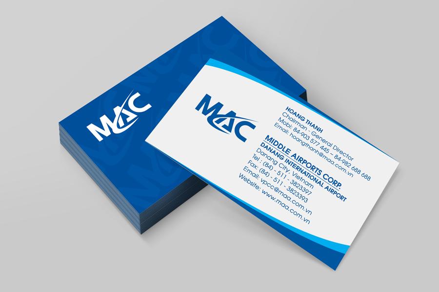 Thiết kế logo thương hiệu Cụm cảng hàng không miền Trung MAC