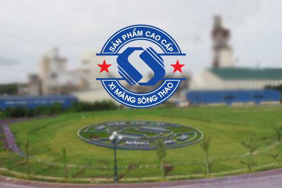 Thiết kế logo xi măng Sông Thao