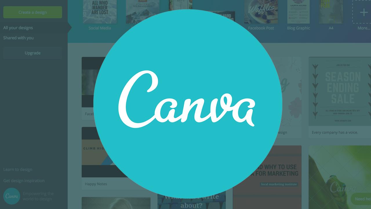 Canva – Thiết kế ấn phẩm, logo đơn giản đa chức năng
